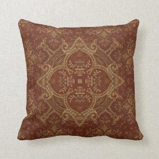 Kaleidoscope Kreations Rust Tapestry 3 Pillow