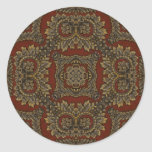 Kaleidoscope Kreations Tapestry 4 Classic Round Sticker