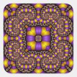 Kaleidoscope Kreations Twizzler No 2 Square Sticker
