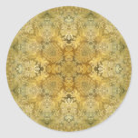 Kaleidoscope Kreations Vintage Baroque 1 Classic Round Sticker