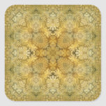 Kaleidoscope Kreations Vintage Baroque 1 Square Sticker
