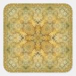 Kaleidoscope Kreations Vintage Baroque 1 Square Sticker