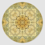 Kaleidoscope Kreations Vintage Baroque 2 Classic Round Sticker