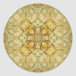 Kaleidoscope Kreations Vintage Baroque 3 Classic Round Sticker