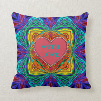 Kaleidoscope Kreations With Love Pillow No3