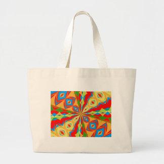 Kaleidoscope Large Tote Bag