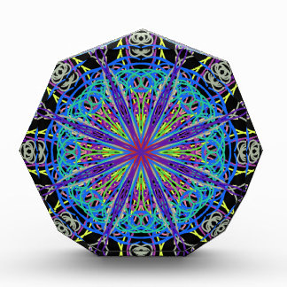 Kaleidoscope Mandala Art Joyful Colors Award