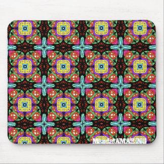 Kaleidoscope Mandala Design Mouse Pad