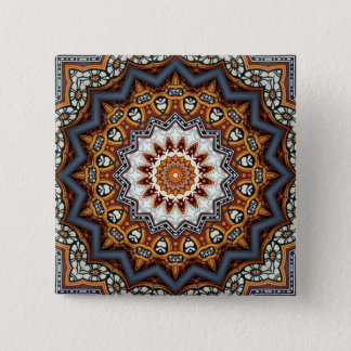 Kaleidoscope Mandala in Portugal: Pattern 224.11 Button