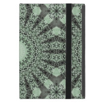 Kaleidoscope Mandala in Shades of Green Case For iPad Mini