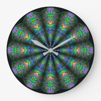 Kaleidoscope Mandala Wall Clock