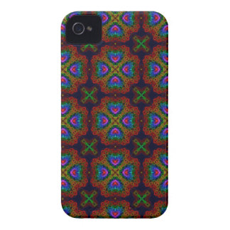 Kaleidoscope Meets Spirograph Colorful Rings iPhone 4 Case-Mate Case