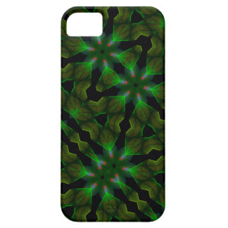 Kaleidoscope Meets Spirograph Green Theme III iPhone SE/5/5s Case