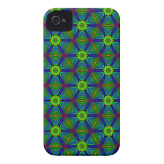 Kaleidoscope Meets Spirograph Starry Dreams iPhone 4 Cover