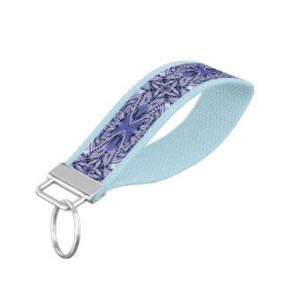 Kaleidoscope Mini Fractal I + your ideas Wrist Keychain