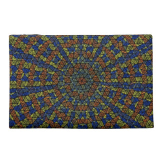 Kaleidoscope Mosaic Travel Accessories Bags