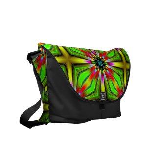 Kaleidoscope of Color Design Courier Bag