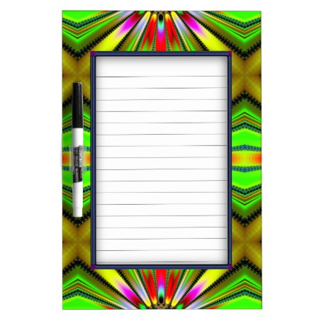 Kaleidoscope of Color Design Dry-Erase Boards