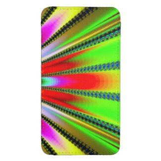 Kaleidoscope of Color Design Galaxy S4 Pouch