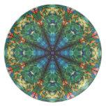 Kaleidoscope of Colors Dinner Plate