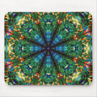 Kaleidoscope of Colors Mouse Pad