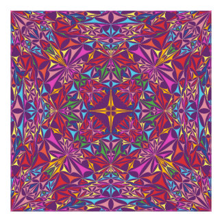 Kaleidoscope of Colors Photographic Print