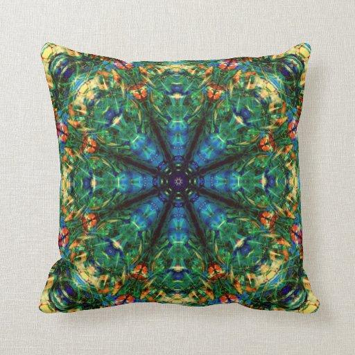 Kaleidoscope of Colors Pillow