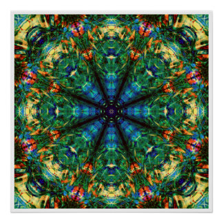 Kaleidoscope of Colors Poster