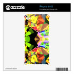 Kaleidoscope of Colors Skin For The iPhone 4S