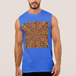 Kaleidoscope of Flowers Sleeveless T-shirts
