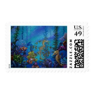 """Kaleidoscope Of Life"" Stamp"