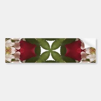Kaleidoscope of Roses Bumper Sticker
