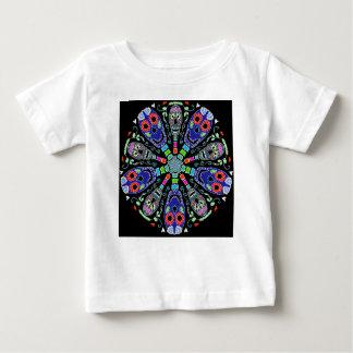 Kaleidoscope of skulls baby T-Shirt