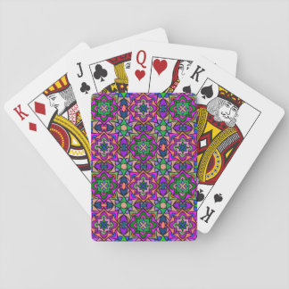Kaleidoscope of Stars Art Playing Cards