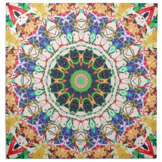 Kaleidoscope of Textures Napkin