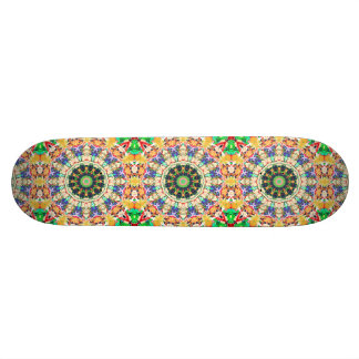 Kaleidoscope of Textures Skateboard