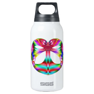 Kaleidoscope Of The Heart Thermos Water Bottle