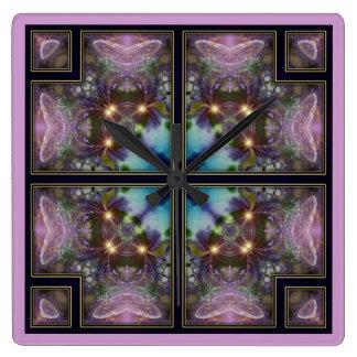 Kaleidoscope Panel Wall Clock