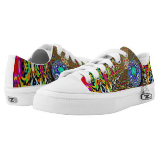 Kaleidoscope Patterm 10 + your ideas Low-Top Sneakers