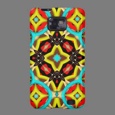 Kaleidoscope Pattern Samsung Galaxy case Samsung Galaxy SII Cases