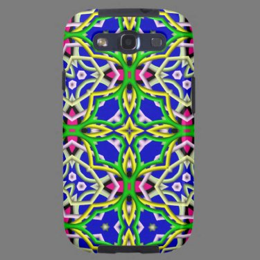 Kaleidoscope Pattern Samsung Galaxy case Samsung Galaxy S3 Case