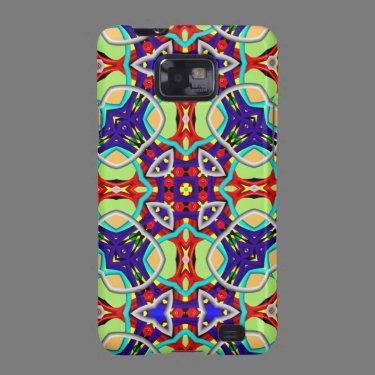 Kaleidoscope Pattern Samsung Galaxy case Samsung Galaxy S2 Covers