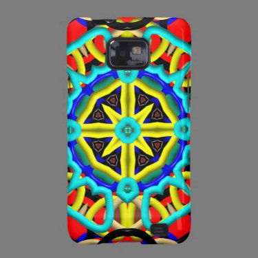Kaleidoscope Pattern Samsung Galaxy case Galaxy S2 Case