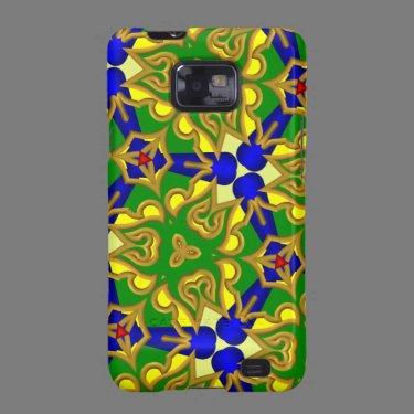 Kaleidoscope Pattern Samsung Galaxy case Samsung Galaxy S2 Cases