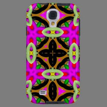 Kaleidoscope Pattern Samsung Galaxy case Galaxy S4 Case