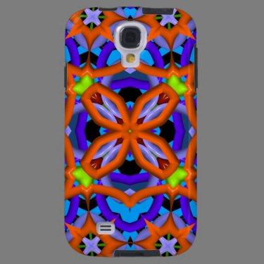 Kaleidoscope Pattern Samsung Galaxy case
