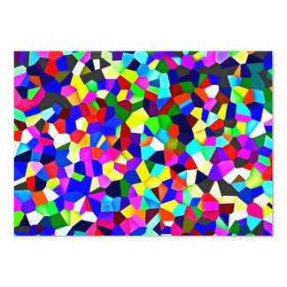 Kaleidoscope Pattern - Small Facets Card