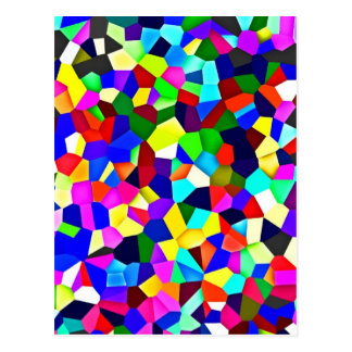 Kaleidoscope Pattern - Small Facets Post Cards