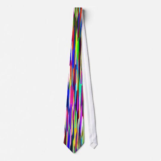 Kaleidoscope Pattern - Small Facets Tie