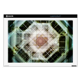 Kaleidoscope photo pattern laptop decal